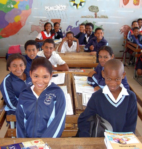 South-african-school-childr